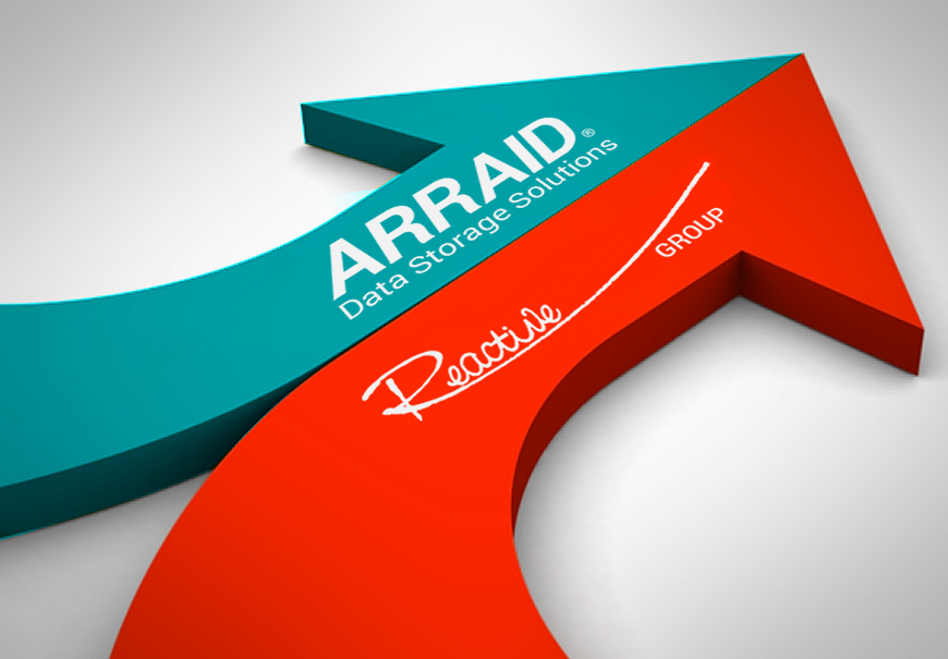 Reactive Group acquires Arraid, a US-based legacy data storage specialist, and revamps products
